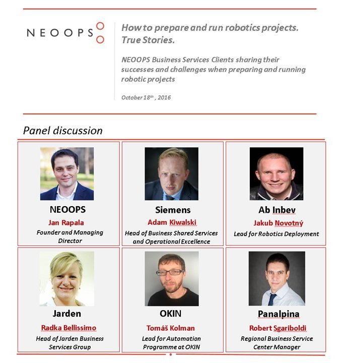 NEOOPS Presentation